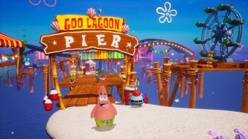 Скриншот четвёртый из SpongeBob SquarePants: Battle for Bikini Bottom – Rehydrated