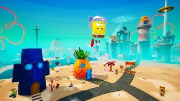 Скриншот первый из SpongeBob SquarePants: Battle for Bikini Bottom – Rehydrated