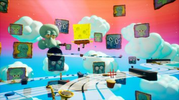 Скриншот третий из SpongeBob SquarePants: Battle for Bikini Bottom – Rehydrated